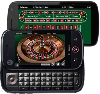 Android Roulette van 7Red